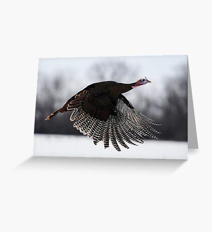 turkey taken off Greeting Card