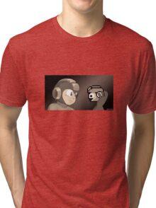 Mega Hamlet, Sepia Tri-blend T-Shirt