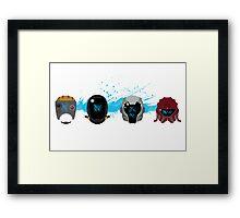 Pacific Rim: Kaiju Kill Count Framed Print