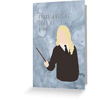 Luna Lovegood & Quote Greeting Card
