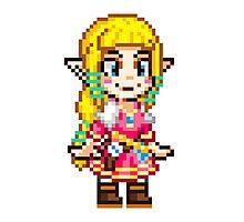 Skyward Sword - Zelda Pixel Photographic Print