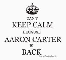 Aaron Carter IS Back! by jenihajas