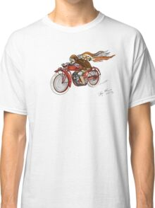 STEAMPUNK INDIAN STYLE MOTORCYCLE T SHIRT Classic T-Shirt