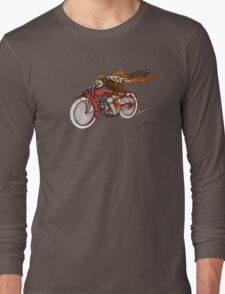 STEAMPUNK INDIAN STYLE MOTORCYCLE T SHIRT T-Shirt