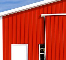 Red Country Barn by sohopixx