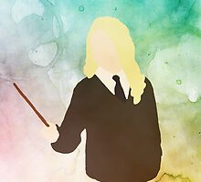 Luna Lovegood Basic Popart by emziiz