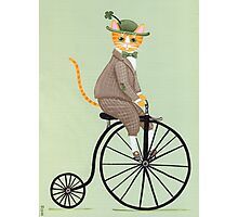 Dandy Penny Farthing Photographic Print