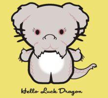 Hello Luck Dragon Baby Tee