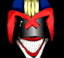 Joke Dredd by LVBART