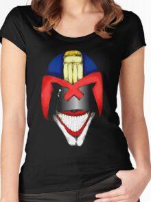 Joke Dredd Women's Fitted Scoop T-Shirt