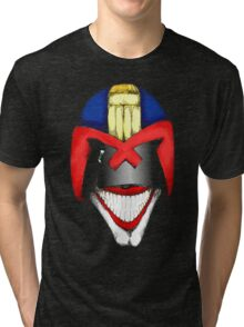 Joke Dredd Tri-blend T-Shirt