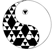 Yin Yang Triangles by lucid-reality