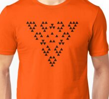 Implied Triangles Unisex T-Shirt