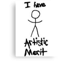 """Artistic Merit"" Canvas Print"