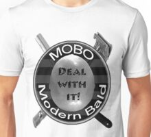 MOBO - Modern Bald - Deal with it, now in Black and White! Unisex T-Shirt