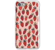 Sweet Strawberry Pattern iPhone Case/Skin