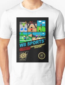 Wii Sports NES Cover Art T-Shirt