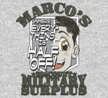 Marco's Discount Military Surplus T-Shirt