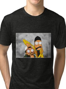 Jay and Silent Bob Tri-blend T-Shirt