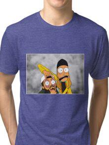 Jay and Silent Bob Tri-blend T-Shirt