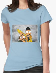 Jay and Silent Bob Womens Fitted T-Shirt