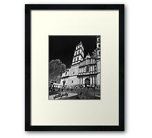 ©MS San José Temple IVAS Monochromatic II Framed Print