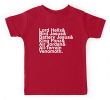 All Hail Helix - The Chosen Ones (Names) Kids Tee