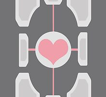 Companion Cube by chrissy42