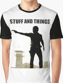 Stuff and Things Walking Dead Graphic T-Shirt