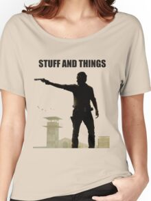 Stuff and Things Walking Dead Women's Relaxed Fit T-Shirt