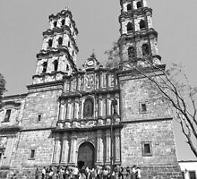 ©MS San José Temple IIIAS Monochromatic by OmarHernandez