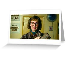 The Log Lady Greeting Card