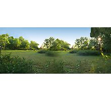 Country Living Sunset Photographic Print