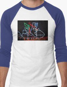 Creating the polar vortex Men's Baseball ¾ T-Shirt
