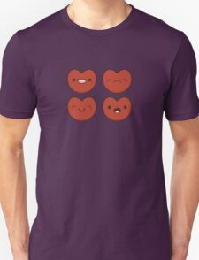 #11 Hearts Unisex T-Shirt