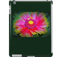 Blanket flower macro iPad Case/Skin