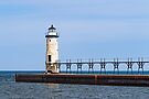 The Lighthouse at Manistee by Kenneth Keifer