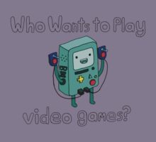 Who Wants to Play Video Games? Kids Clothes