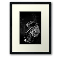 Tell Me Again Framed Print