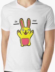 Forgetful Bunny Mens V-Neck T-Shirt