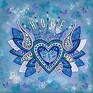 H O P E by Lisa Frances Judd~QuirkyHappyArt