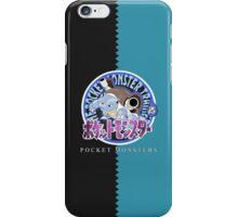 Pocket Monsters Blue iPhone Case/Skin