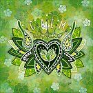 CALM by Lisa Frances Judd~QuirkyHappyArt