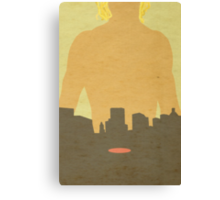 City of Bones Minimalist Cover Canvas Print