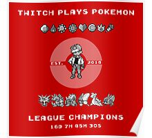 Twitch Plays Pokemon Champions Poster