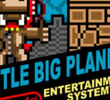 nes little big planet Sticker