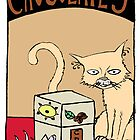 "Dirk Strangely's ""Cats and Sweets"" CHOCOLATE by Dirk Strangely"