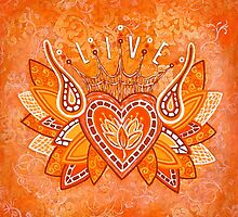 LIVE by Lisa Frances Judd ~ QuirkyHappyArt