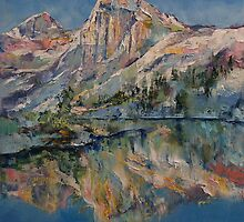 Mountain Lake by Michael Creese