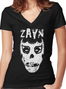 Sami Zayn/Misfits Mashup T-shirt Women's Fitted V-Neck T-Shirt